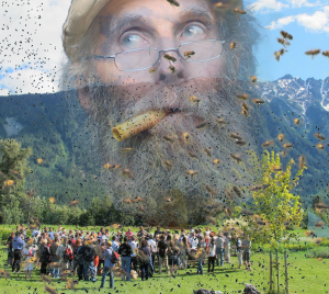 Bees and people alike mourn the death of Burt.